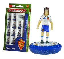 REAL ZARAGOZA 1ST 2017 OFFICIAL SUBBUTEO TEAM. PAUL LAMOND TABLE FOOTBALL.