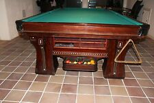 Brunswick Balke Collender Arcade Antique Pool Table