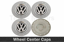 4x 155mm/60mm VW Volkswagen Wheel Alloy Rims Center Caps Passat Golf Caddy Jetta