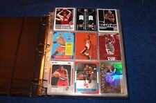 PORTLAND TRAIL BLAZERS COLLECTION IN BINDER WITH STARS ROOKIES INSERTS (BF316)