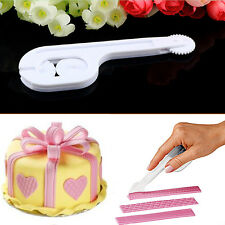 New Design Cake Fondant Icing Wheel Cutter Decorating Modelling Embossing Tools