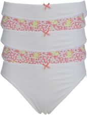 Ex Store Multipack High Leg Cotton Rich Knickers