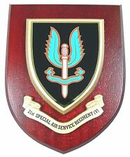 21 SPECIAL AIR SERVICE SAS CLASSIC HAND MADE IN UK REGIMENT MESS PLAQUE