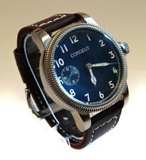 Beautiful Classic Vintage Style 46mm PILOT's Hand Wind Aviators Military Watch