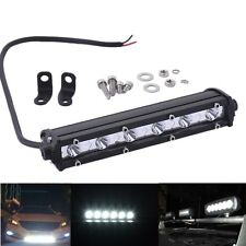 7 inch 18W Cree LED Work Light Bar 4WD Offroad Spot ATV SUV Driving Fog Lamp