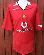 VINTAGE MANCHESTER UNITED HOME FOOTBALL SHIRT 04-06 XXL NIKE RARE