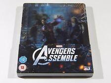 Avengers Assemble (3D+2D) Blu-ray Steelbook [IMPORT] Lenti Ed. OOS/OOP