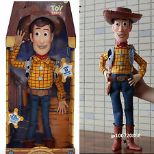 "Boys Kid Toy Story 16"" Talking Woody Pull String Doll Figure English Phrases UK"