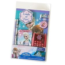 NEW NIP Disney Frozen 7 Piece Back to School Stationary Set Lots of Elsa!