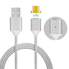 2.4A Magnetic Adapter Charger Micro USB Charging Cord Cable For Samsung LG New