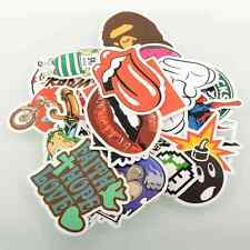 30 Stickers Skateboard Snowboard Vintage Laptop Luggage Decals mix Cool
