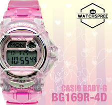 Casio Baby-G Alarm Ladies Sport Watch BG169R-4D