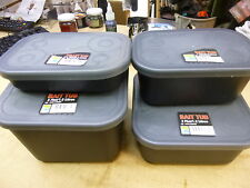 PRESTON BAIT  Tubs set x4