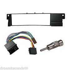 Fascia Wiring ISO Adaptor & Aerial Car Stereo Fitting Kit for BMW E46 3 Series