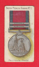TADDY  &  CO.  -  RARE MILITARY / MEDALS & RIBBONS CARD  -  NO.  1  -  1912