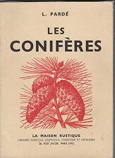 Les Conifères. L.Pardé - Pins - Sapins ...