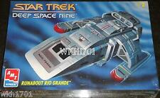 Deep Space Nine RUNABOUT RIO GRANDE Model Kit MISB DS9 + Bonus Hologram!