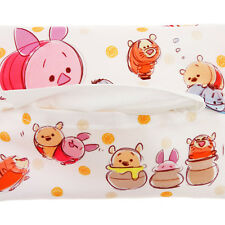 JAPAN Disney Store Tsum Tsum Winnie the Pooh & Friend Tissue Case with Coin Case