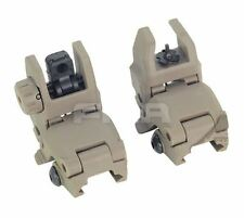 FMA MBUS GEN 1 BACK UP SIGHTS M SERIES IRON SIGHT DARK EARTH PTS UK