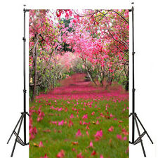 5x7ft Spring Flower Grass Photography Background Backdrop Vinyl props