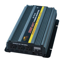 2000 Watt 24 Volt DC to 120 Volt AC Power Inverter (Royal Power)