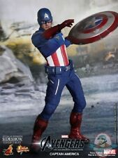 The Avengers Captain America Sixth Scale Figure by Hot Toys Used