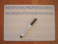 Lined A4 Handwriting Whiteboard Set Dyslexia Dyspraxia SEN