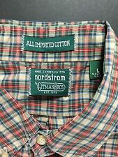 Gitman Bros for Nordstrom Vintage Button Up Shirt | L | Made In USA