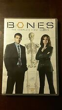 (DVD) BONES - THE COMPLETE FIRST SEASON , 2005-2006, USED, COLOR 4 DISC SET
