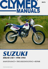 Clymer Repair Service Shop Manual Vintage Suzuki DR250 90-93 S 90-94 DR350 S