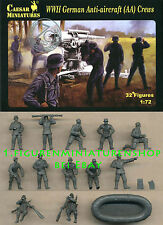 1:72 FIGUREN H089 WWII GERMAN ANTI-AIRCRAFT CREWS - CAESAR
