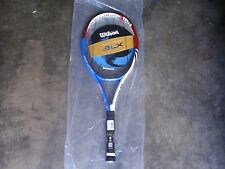 RARE/WILSON BLX TOUR LIMITED TENNIS RACQUET 41/4 /JUSTIN HENIN/ NEW W/TAGS