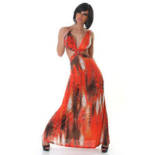 sexyKleid Sommerkleid Strandkleid MAXIKLEID Summer Beach Sun MAXI Dress 34 36 OS