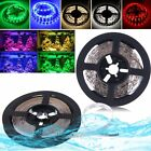 Non/Waterproof DC 12V 5M 3528 SMD 300 LED Flexible Strips Light 5 colors