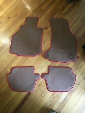 Porsche 911 C2S LLoyd Floor Mats Red Tan 997 '05-07 OEM