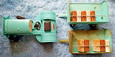 Vintage Tonka Airlines Aqua Green Truck Trailers w/ Bags Original Paint & Decals