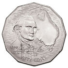 Captain Cook Bicentenary 50 cent coin, collectable 1970, free postage!!