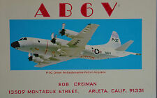 Color View Press Lockheed P-3C Orion United States Air Force Postcard