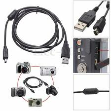 USB 12 Pin Data SYNC Cable Cord Lead Battery Charging Wire For Olympus Cameras