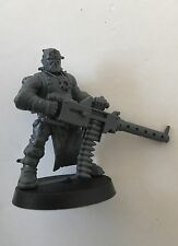 Chaos Cultist With Heavy Stubber plastic Games Workshop model
