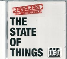 CD ALBUM 12 TITRES--REVEREND AND THE MAKERS--THE STATE OF THINGS--2007