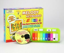 MELODY KEYBOARD + CD-ROM  #33011 TEDCO TOYS * 20 themed games* 3 years+