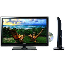 "LED NEW 19"" LCD FULL HD TELEVISION DVD PLAYER COMBO DIGITAL TV TUNER ACDC 12V RV"