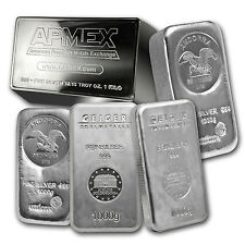 1 kilo Silver Bar - Mint Varies - SKU #75361