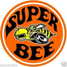 NOSTALGIC DODGE SUPER BEE HARD HAT STICKER HELMET STICKER ROUND