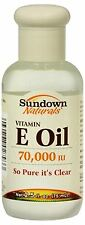 Sundown Naturals Vitamin E Oil 2.50 oz (Pack of 9)