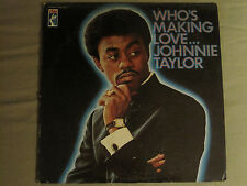 JOHNNIE TAYLOR WHO'S MAKING LOVE... LP ORIG '68 STAX STS-2005 RARE SOUL FUNK R&B