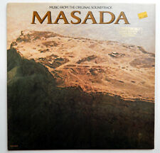 Soundtrack LP MASADA Jerry Goldsmith PETER O'TOOLE Peter Strauss MINT- Condition