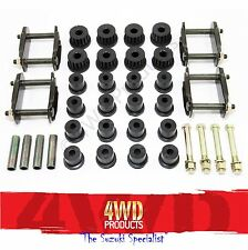 Spring Bush / Bolt / Shackle kit - Suzuki LJ80 Sierra 1.0/1.3 Maruti 1.0 (78-99)