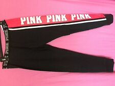 VICTORIA'S SECRET  ~ VS ~  LOVE PINK ~ MEDIUM ~ GYM PANT SWEATPANTS